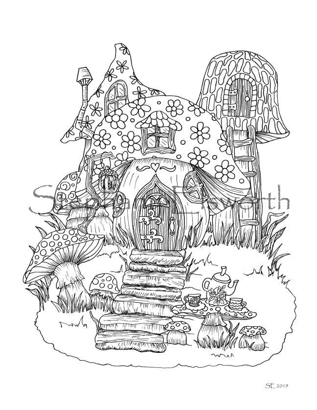 Teatime at Mushroom Cottage wm JPG 2
