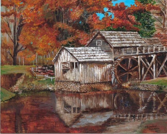 mabry mill original art